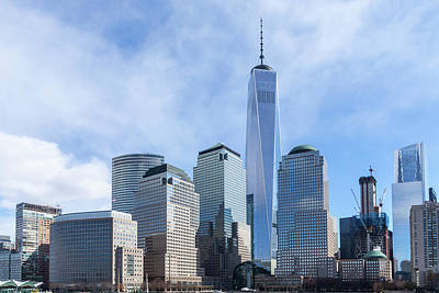 Photograph - Freedom Tower by SR Green