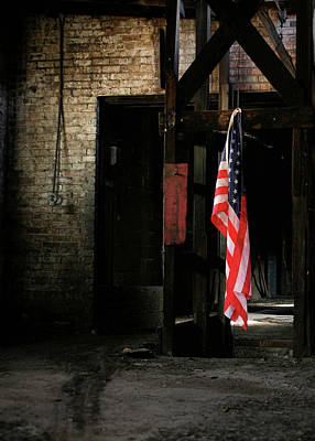 Photograph - Freedom Vertical by JC Findley