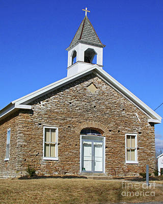 Photograph - Freedonia Baptist Church by Melissa  Mim Rieman