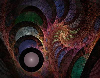 Digital Art - Freefall - Fractal Art by NirvanaBlues