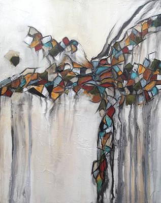 Painting - Freefalling by Deborah Valiquet-Myers