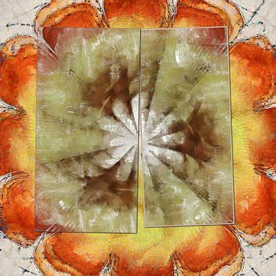Freelances Consonance Flowers  Id 16163-144756-01321 Art Print