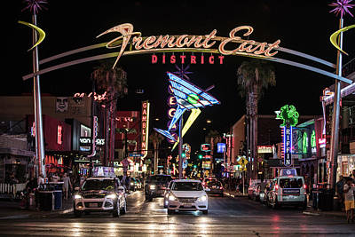 Photograph - Freemont Entrace Vegas by John McGraw