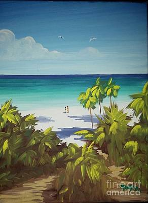 Freeport Bahamas Print by Matty Dreadlocks