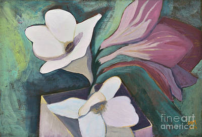 Painting - Freesia by Carol Oufnac Mahan