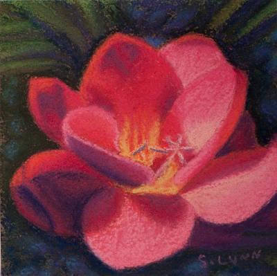 Painting - Freesia Dawn by Sandra Lynn