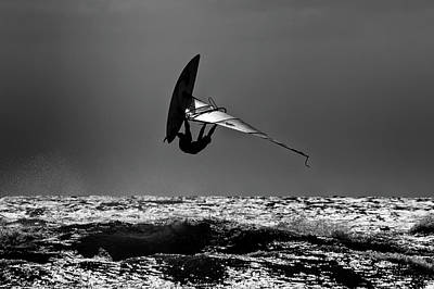 Surfing Photograph - Freestyle by Stelios Kleanthous