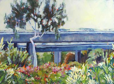 Freeway In The Garden Art Print