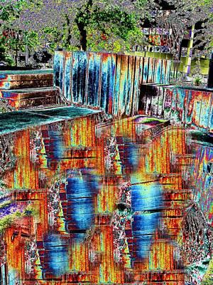Freeway Digital Art - Freeway Park 8 by Tim Allen