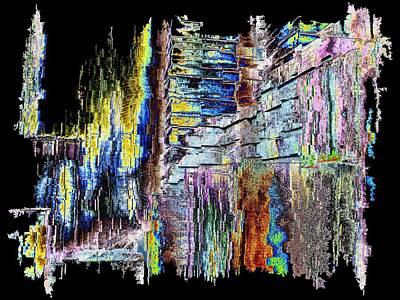 Freeway Digital Art - Freeway Park 9 by Tim Allen