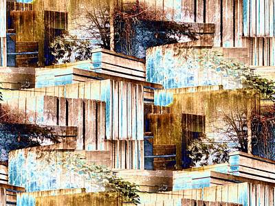 Digital Art - Freeway Park by Tim Allen