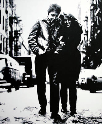 Freewheelin Art Print