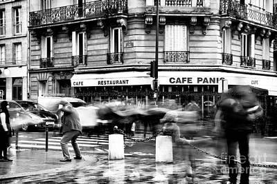 Photograph - Freeze Frame Paris by John Rizzuto
