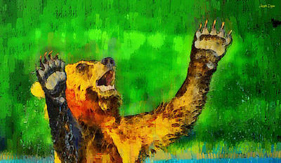 Freeze - Pa Art Print by Leonardo Digenio