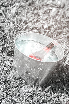 Beer Photos - Freezing cold pale ale beer at winter festival by Jorgo Photography - Wall Art Gallery