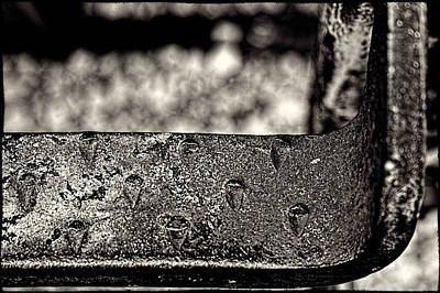 Photograph - Freight Car Step-up Detail by Roger Passman