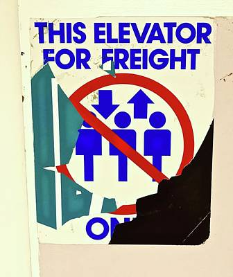 Photograph - Freight Only by Brian Sereda