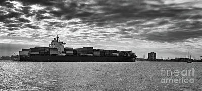 Photograph - Freighter Mare Atlanticum by Dale Powell