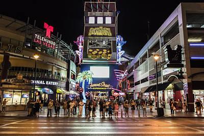 Photograph - Fremont Street Downtown Las Vegas by John McGraw