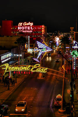 Photograph - Fremont Street East by Robert Melvin