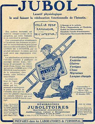 French Advertisement C.1916 For Jubola Print by Vintage Design Pics