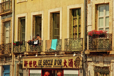 Saone River Photograph - French Afternoon Delight by Kay Brewer