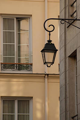 Photograph - French Alley Lantern by Jani Freimann