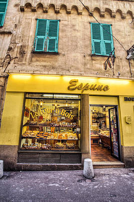 Medeival Photograph - French Bakery by Al Hurley