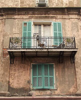 Photograph - French Balcony by Sandra Cutrer