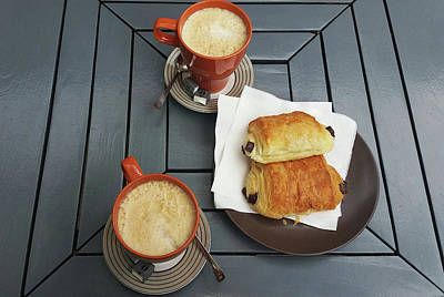 Photograph - French Breakfast For Two by Jani Freimann