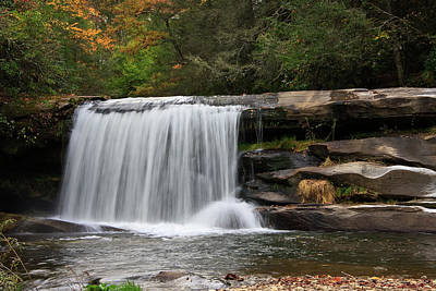 Rural Scenes Photograph - French Broad Falls by Jill Lang