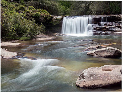 Photograph - French Broad Falls by Patti Deters