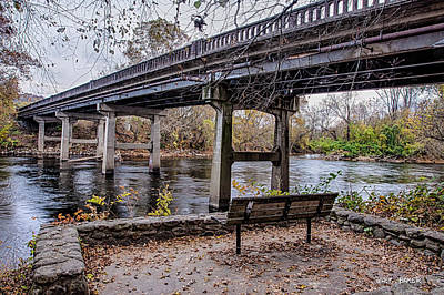 Photograph - French Broad River Park by Walt  Baker
