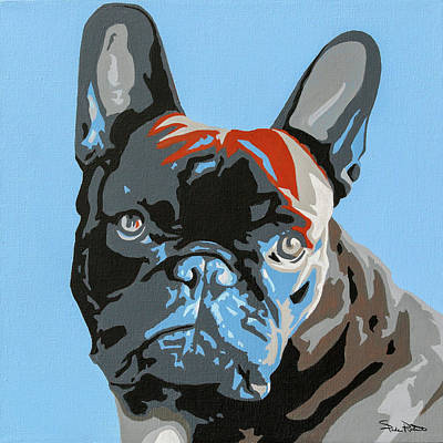 French Bull Dog Wall Art - Painting - French Bulldog by Slade Roberts