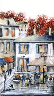 French Cafe Art Print