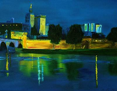 Painting - French Castle by Gregory Allen Page