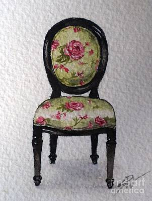 Painting - French Chair by Sandra Phryce-Jones