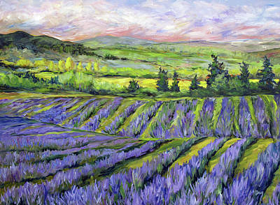 Painting - French Countryside by Nancy Day