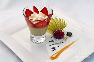 French Dessert Art Print