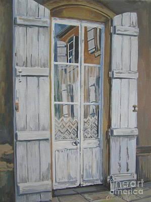 French Doors Original by Anda Kett