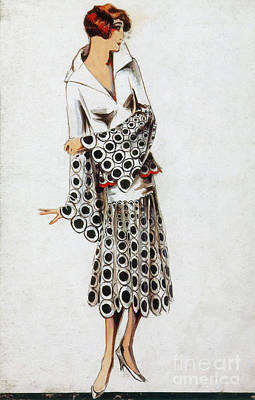 French Fashion, 1925 Art Print by Science Source