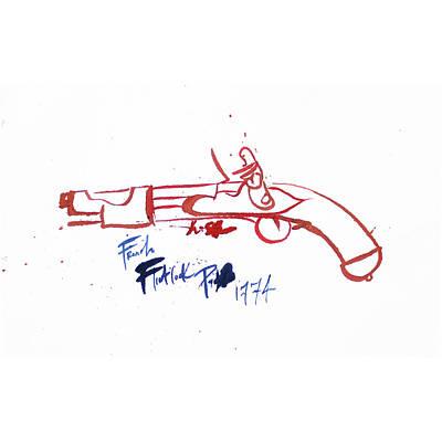 French Flintlock Pistol 1774 Original