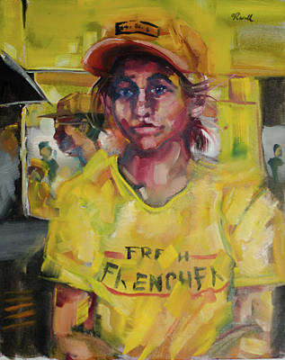 French Fried Girl Original by Reese Wallace