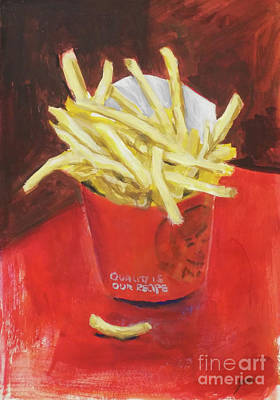 French Fries Original by Yoshiko Mishina