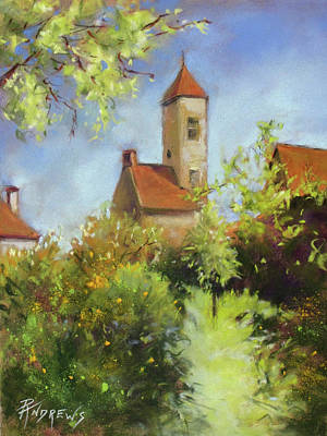 Painting - French Garden Delight by Rae Andrews