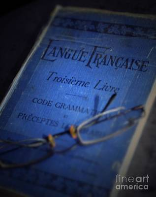 Photograph - French Grammar by Mary-Lee Sanders