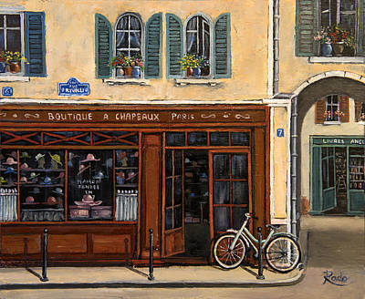 French Hats Boutique Original by Radoslav Nedelchev