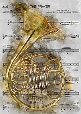 Symphonic Painting - French Horn Music 1 - By Diana Van by Diana Van