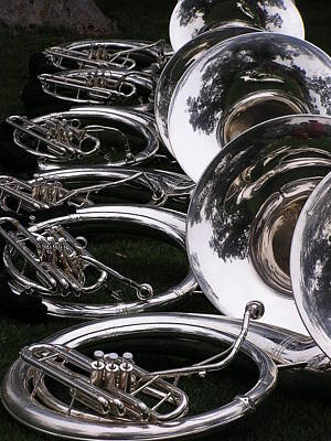 Photograph - French Horns by Cheryl Dean