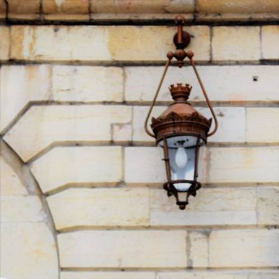 Photograph - French Lamp by Cheryl Miller